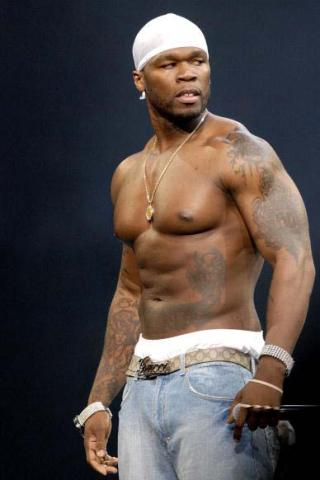 50 Cent height and weight
