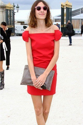 Alexa Chung height and weight