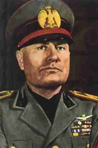 Benito Mussolini height and weight