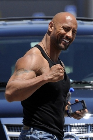 Dwayne Johnson Height Weight Shoe Size