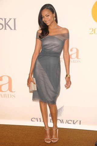 Zoe Saldana Height Weight