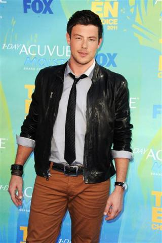 Cory Monteith height and weight