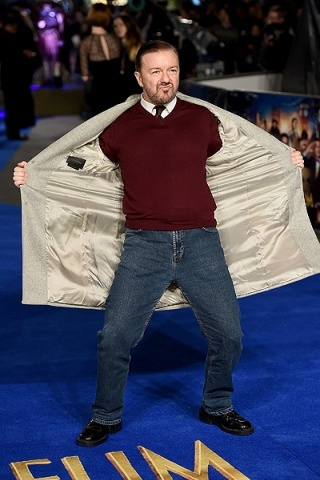 Ricky Gervais Height – Weight