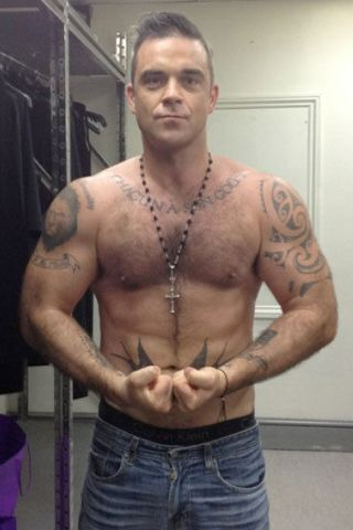 Robbie Williams Height – Weight