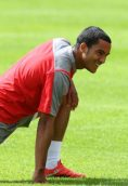 Theo Walcott height and weight