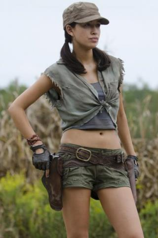 Christian Serratos height and weight