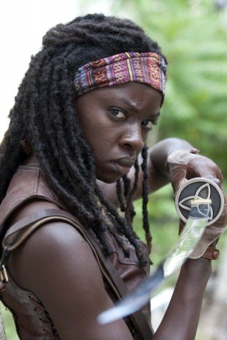 Danai Gurira height and weight