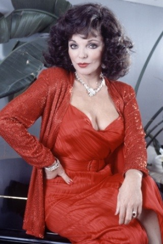 Joan Collins height and weight
