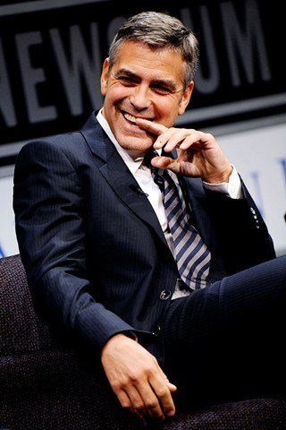 George Clooney height and weight