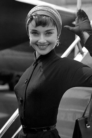Audrey Hepburn height and weight