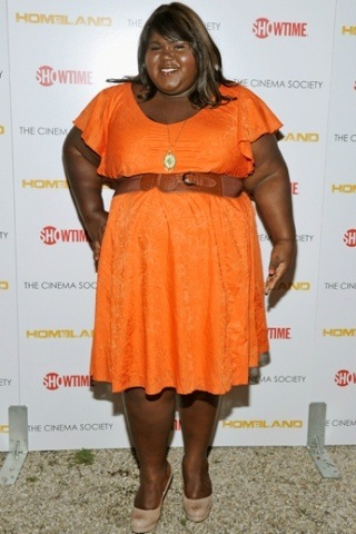 Gabourey Sidibe Height - Weight