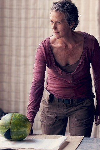 Melissa McBride height and weight