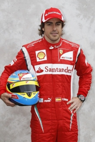 Fernando Alonso height and weight