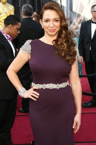 Maya Rudolph height and weight