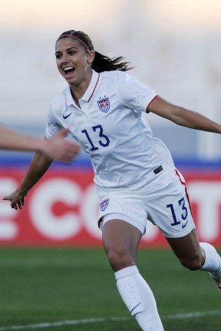 Alex Morgan height and weight