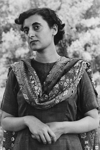Indira Gandhi height and weight