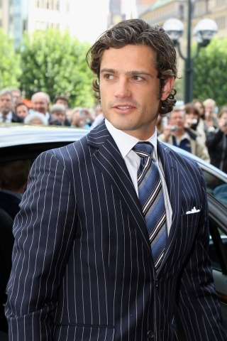 Prince Carl Philip of Sweden height and weight