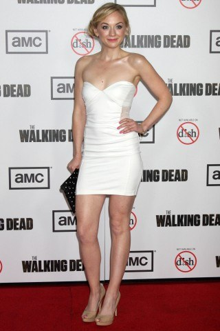 Emily Kinney height and weight