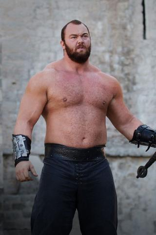 Hafthor Julius Bjornsson height and weight