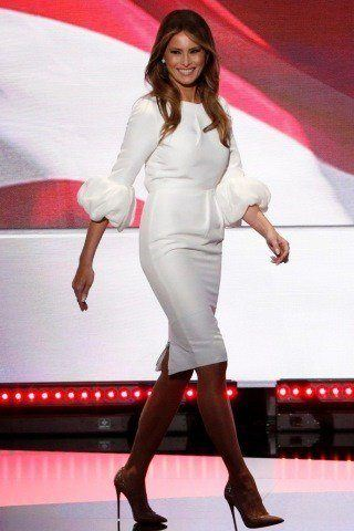 Melania Trump height and weight