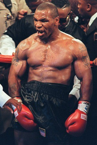 Mike Tyson height and weight