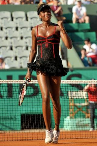 Venus Williams height and weight