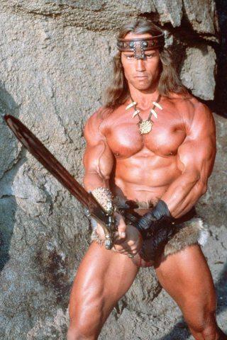 Arnold Schwarzenegger Biceps Chest Waist