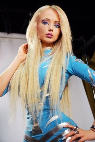 Valeria Lukyanova height and weight