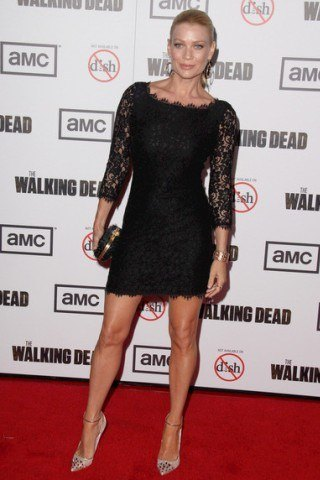 Laurie Holden height and weight