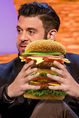 Adam Richman height and weight