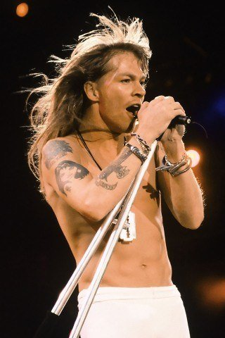Axl Rose height and weight