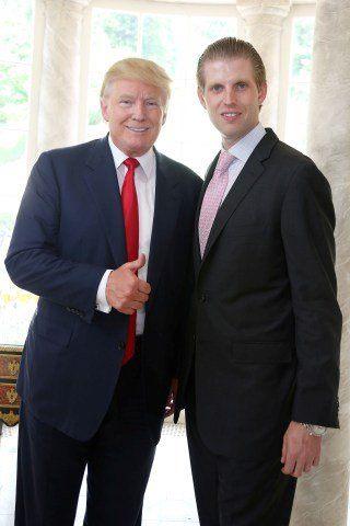 Eric Trump Height