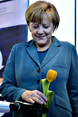 Angela Merkel height and weight