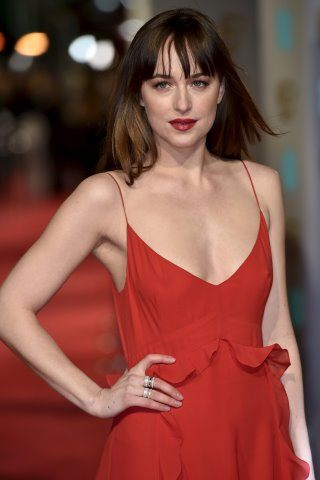 Dakota Johnson height and weight