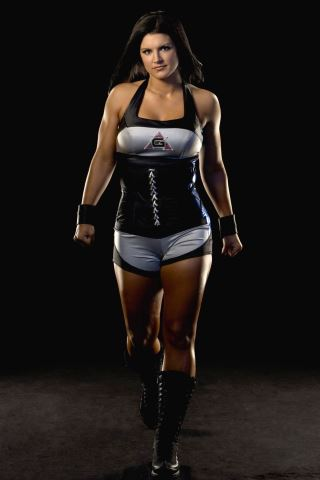 Gina Carano height and weight