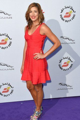 Garbine Muguruza height and weight 2017