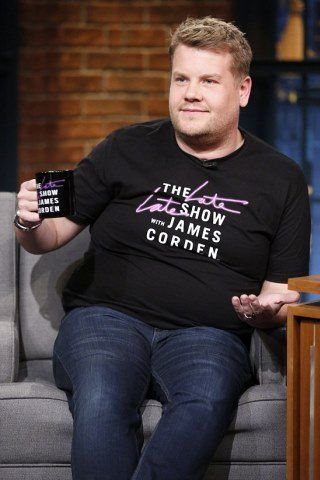 James Corden height and weight