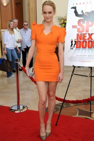 Amber Valletta height and weight