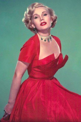 Zsa Zsa Gabor height and weight