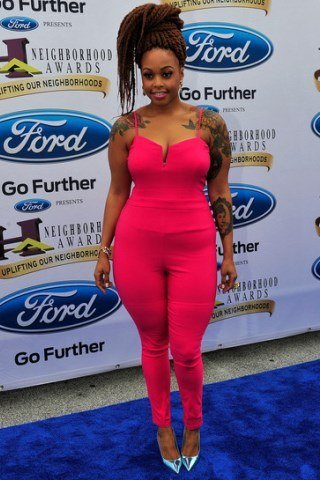 Chrisette Michele Height - Weight