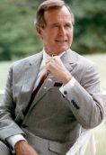 George H. W. Bush height and weight
