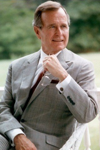 George H. W. Bush: Height, Weight, Shoe Size