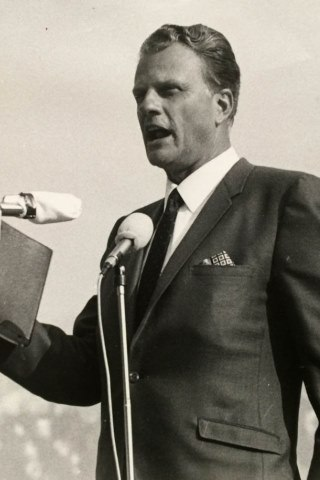 Billy Graham height and weight