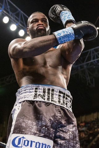 Deontay Wilder Height - Weight