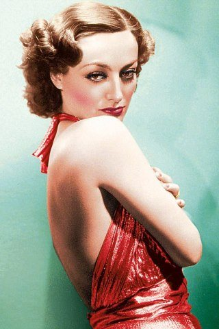 Joan Crawford height and weight