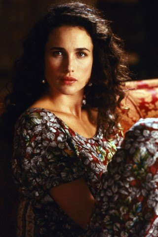 Andie MacDowell Height - Weight
