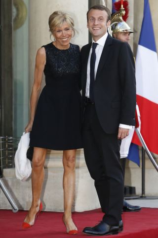 How tall is Brigitte Macron? How much does Brigitte Macron weigh?