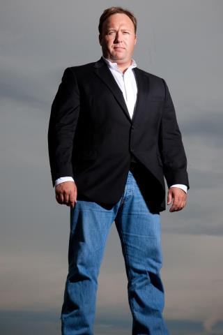 Alex Jones (radio host) height and weight