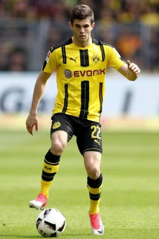 Christian Pulisic height and weight