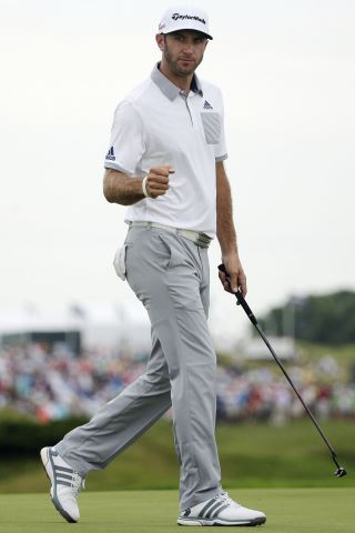 Dustin Johnson height and weight
